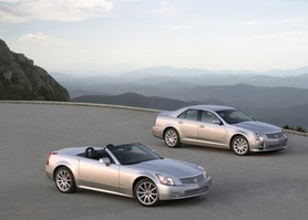 2006 Cadillac STS-V and XLR-V arrive in Europe