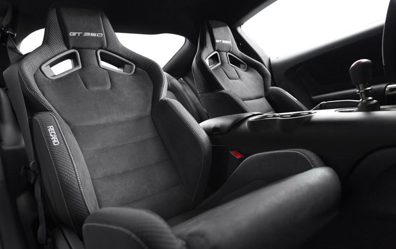 Shelby GT350 Mustang Recaro seats