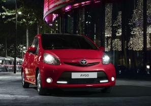 Toyota Aygo range revised