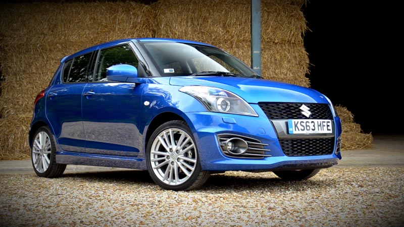 Suzuki Swift Sport 5-door Video Review