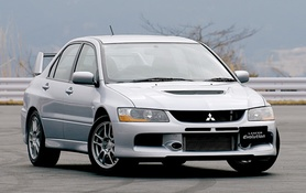 Mitsubishi unveils Lancer Evolution IX line-up