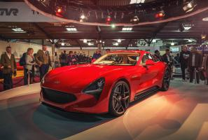 New TVR Griffith unveiled at Goodwood
