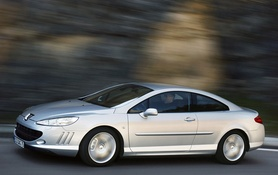 New Peugeot 407 Coupe