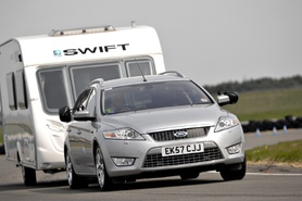 Ford Mondeo Estate 2.0 TDCi Titanium wins 2008 Towcar Awards