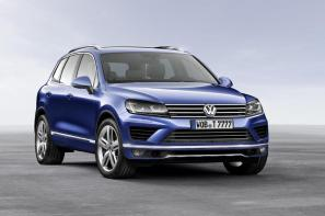 Revised VW Touareg debuts at China Auto Show