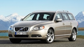 New Volvo V70 first official pictures