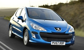 Peugeot 308 SR targeted at business users