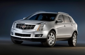 Sneak preview of 2010 Cadillac SRX Crossover