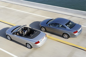 New Volvo C70 coupe/convertible prices and specifications