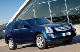 2008 Cadillac SRX on sale in UK from £28,100 in right-hand drive