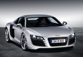 Audi R8 sports car revealed in production-ready form