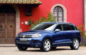 New VW Touareg available to order now