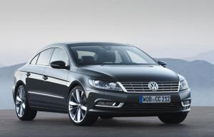 VW Passat CC facelifted