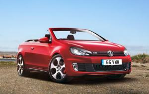 VW Golf GTI Cabriolet available to order now from £29,310