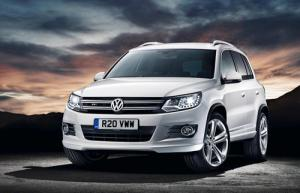 VW Tiguan R-Line adds sporty styling to the range, priced from £28,020