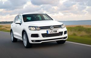 New VW Touareg R-Line model added
