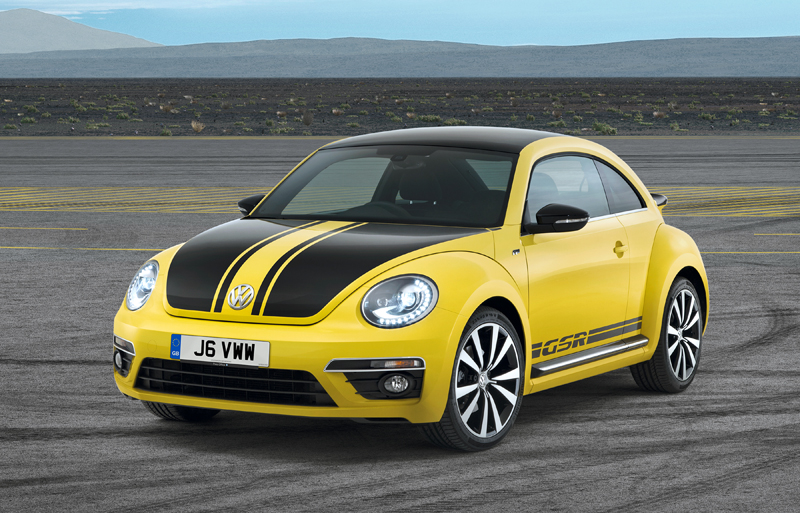 Volkswagen Beetle GSR available to order now priced from £24,900