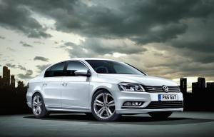 VW Passat R-Line available now priced from £22,470