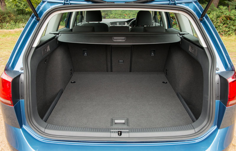 Volkswagen Golf R Boot Space - Golf Sandpoint Elks