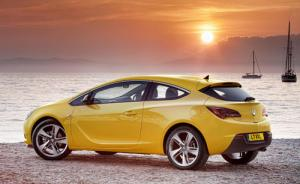 New Vauxhall Astra GTC available to order now priced from £18,495