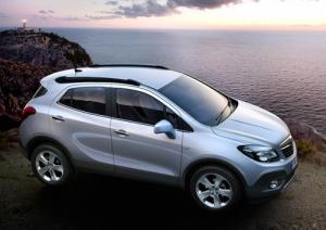 The new Vauxhall Mokka small SUV