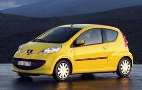 The new Peugeot 107