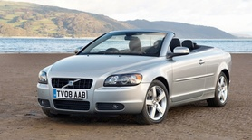 Volvo C70 with free satellite navigation and keyless drive from April
