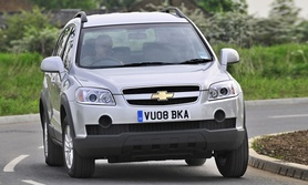 Chevrolet Captiva 2.0 VCDi LS entry level model introduced