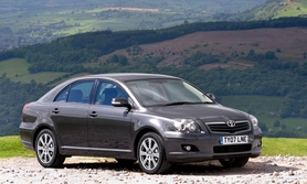 The New Toyota Avensis TR