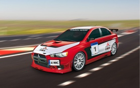 Mitsubishi announces Lancer Evolution X Race-car Programme