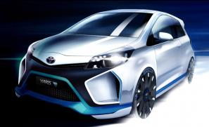 Toyota Yaris Hybrid-R concept to be unveiled at Frankfurt