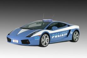Free Lamborghini Gallardo for Italian State Police
