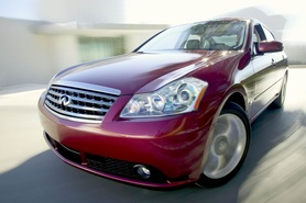 Infiniti to launch in Europe in 2008