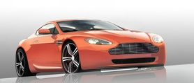 Aston Martin DB9 LM and V8 Vantage N400