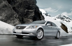 Lexus LS 460 AWD to debut at Moscow International Motor Show