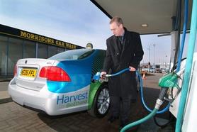 Morrisons opens UK's first BioEthanol E85 fuel pump