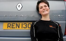 Special Edition Renault Espace in honour of Ellen MacArthur