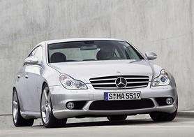 New Mercedes-Benz CLS 55 AMG