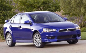 First official pictures of new 2007 Mitsubishi Lancer