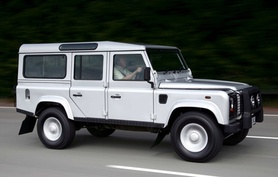 Land Rover Defender Silver limited edition