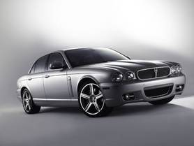 New look Jaguar XJ for 2008 model year