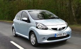 Four Euro NCAP stars for Toyota Aygo