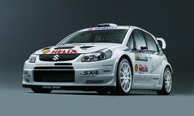 Suzuki Gears Up for the WRC