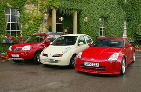 Nissan hat trick in Auto Express awards