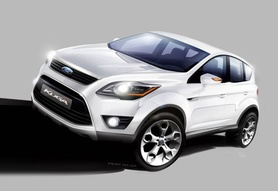 2008 Ford Kuga to be unveiled at Frankfurt
