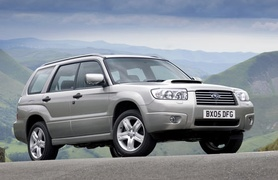 New look for 2006 Subaru Forester