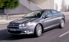 New 2008 Citroen C5 on sale in UK 2 April