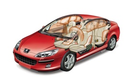 Peugeot 407 achieves five star Euro NCAP rating
