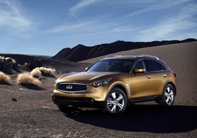 320PS 3.7-litre V6 Infiniti FX37 coming to Europe