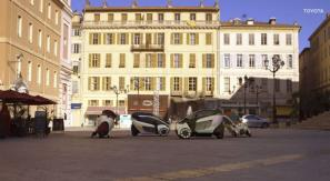 Sponsored Video: Toyota i-Road brings car sharing to Grenoble